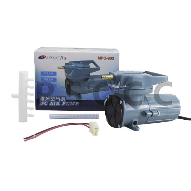 Resun Mpq 903 Air Compressor 12v Dc Oxygen Pump Aquarium Pump Oxygen Aerator Mpq903 Oxygen Pump Aquarium Pump Compressor Air Pump
