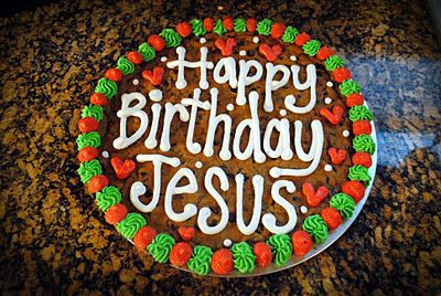Excellent Happy Birthday Jesus Cookie Cakes With Images Happy Birthday Personalised Birthday Cards Akebfashionlily Jamesorg
