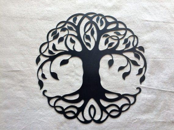 árbol De La Vida Por Uniquelyiron En Etsy Runas Tatuaje árbol De