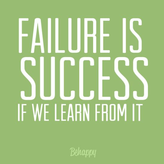 Inspirational Quotes About Failure: Tattoo Ideas & Inspiration - Quotes & Sayings