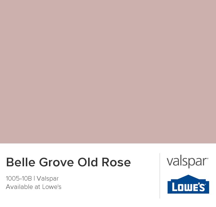 Valspar Paint Color Chip Belle Grove Old Rose Pink Paint Colors Rose Paint Color Pink Paint Colors Benjamin Moore