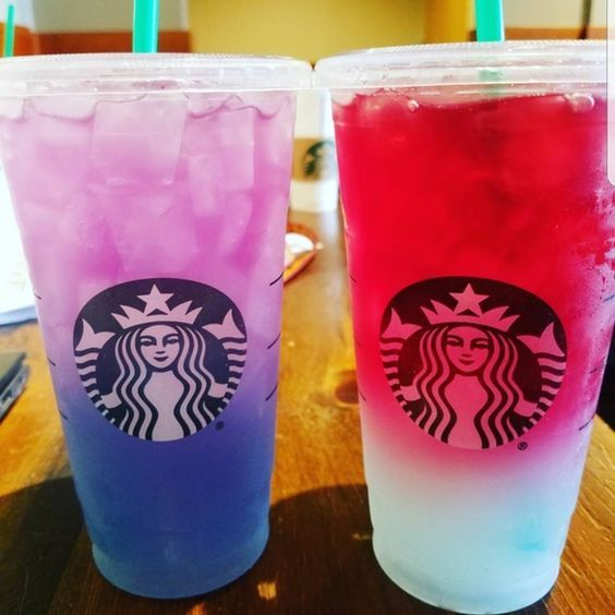 This Secret Starbucks Drink Is Basically the Unicorn Frappuccino All Over Again #drinks