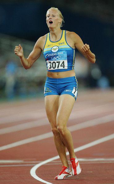 Carolina Kluft Photos Photos Olympics Day 8 Athletics Heptathlon Athlete Female Athletes