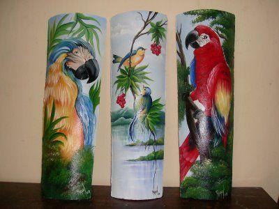 Telhas pintadas pintados a mano y tejas pintura em telhas pintura em azulejo e artesanato - Pintar tejas de barro ...