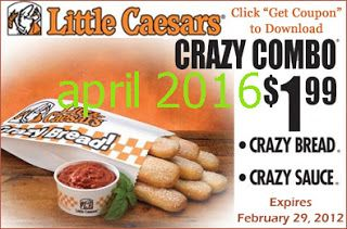 Free Printable Coupons Little Caesars Coupons Free