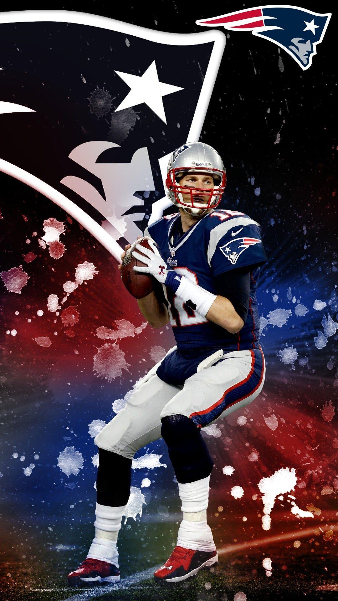 Tom Brady iPhone 7 Plus Wallpaper Nouvelle angleterre