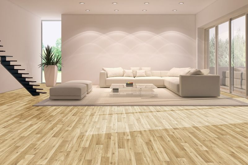 Stormy gray oak luxury vinyl plank offers depth and texture with a