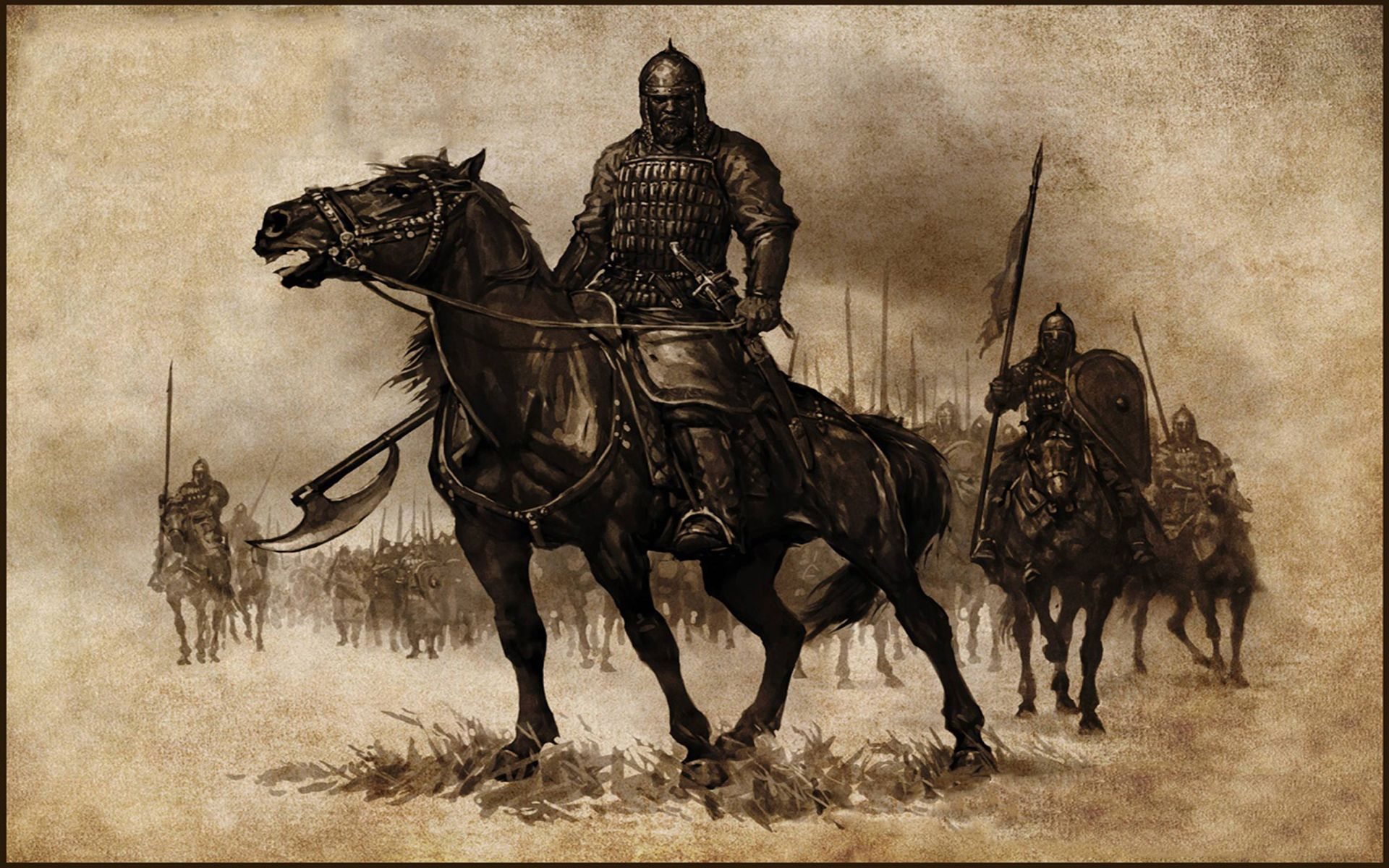 Mount And Blade Warband Wallpaper Mount Blade Horse Wallpaper Knight On Horse