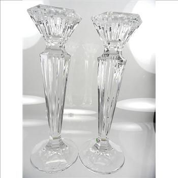 Marquis by Waterford Crystal Candlesticks   Candle holders ...