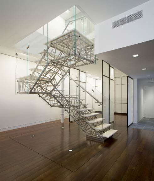 Caliper Studio Genetic Stair: Free Standing Stairs