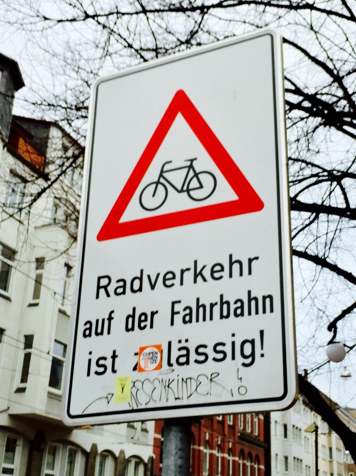 Radverkehr auf der Straße ist lässig!