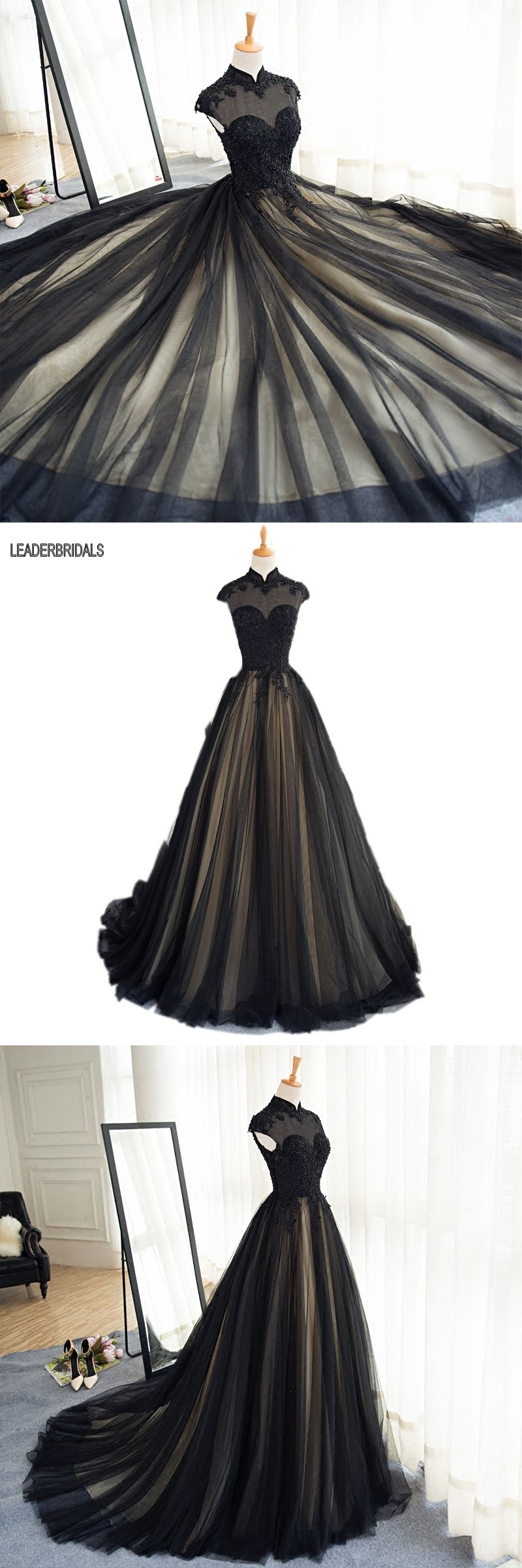 new prom dress black champagne plus size beaded choker party