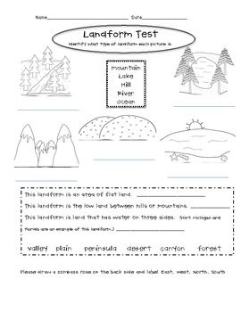 Worksheets Landforms Worksheet landforms worksheet 2 homeschooling earth science pinterest printable landform worksheets weekly editing sheets set3 michelle proper teacherspayteachers