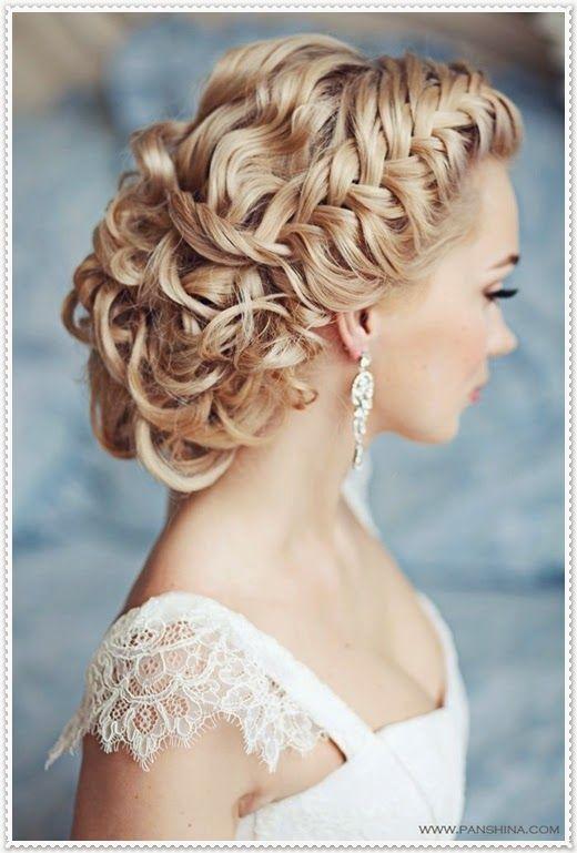 Brautfrisuren lange haare geflochten