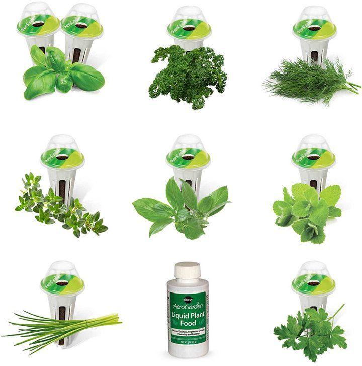 Aerogarden Gourmet Herb 9 Pod Refill Kit Herb Seeds 400 x 300