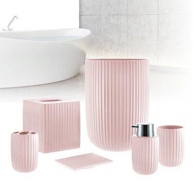 Pink Bathroom Decor, Pink Bathroom Accessories