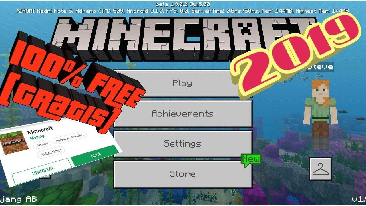 Minecraft Download 2019 Free Game of survival, Minecraft