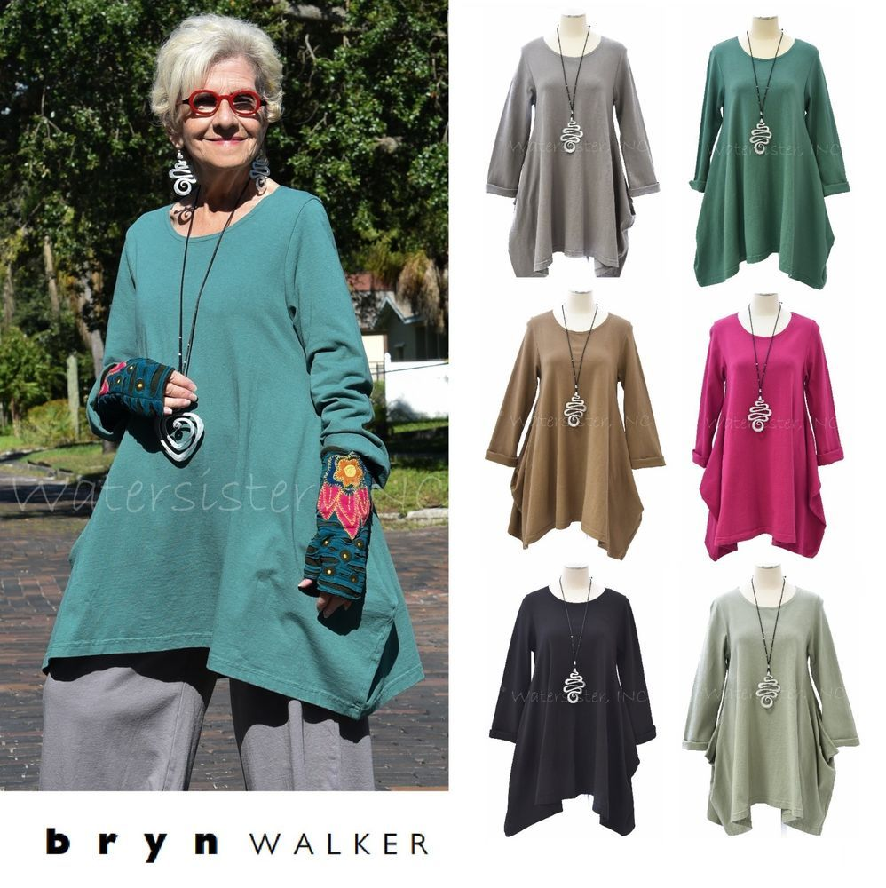 PACIFICOTTON Bryn Walker Pacific Cotton NAHLA TUNIC. Pacificotton - NAHLA Tunic. ● PACIFICOTTON by Bryn Walker. PACIFICOTTON by Bryn Walker 100% Cotton Mid-to-Heavier-Weight Jersey fabric clothing is cut and sewn, and then dyed in batches. | eBay!