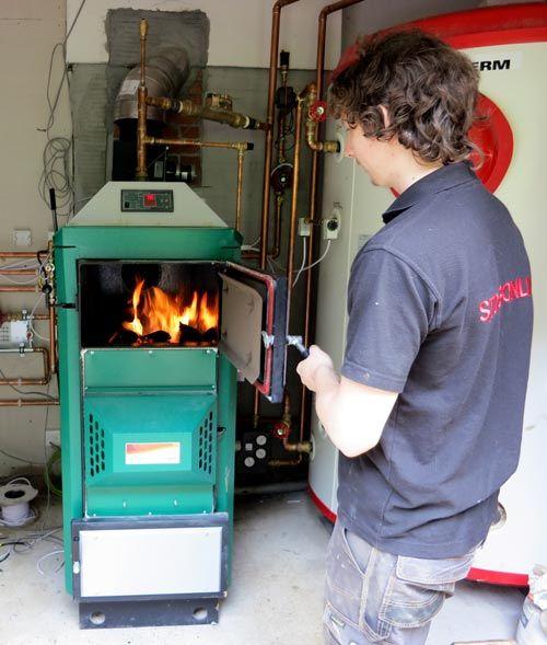 Orlan Super 40 Log Gasification Boiler Boiler Biomass