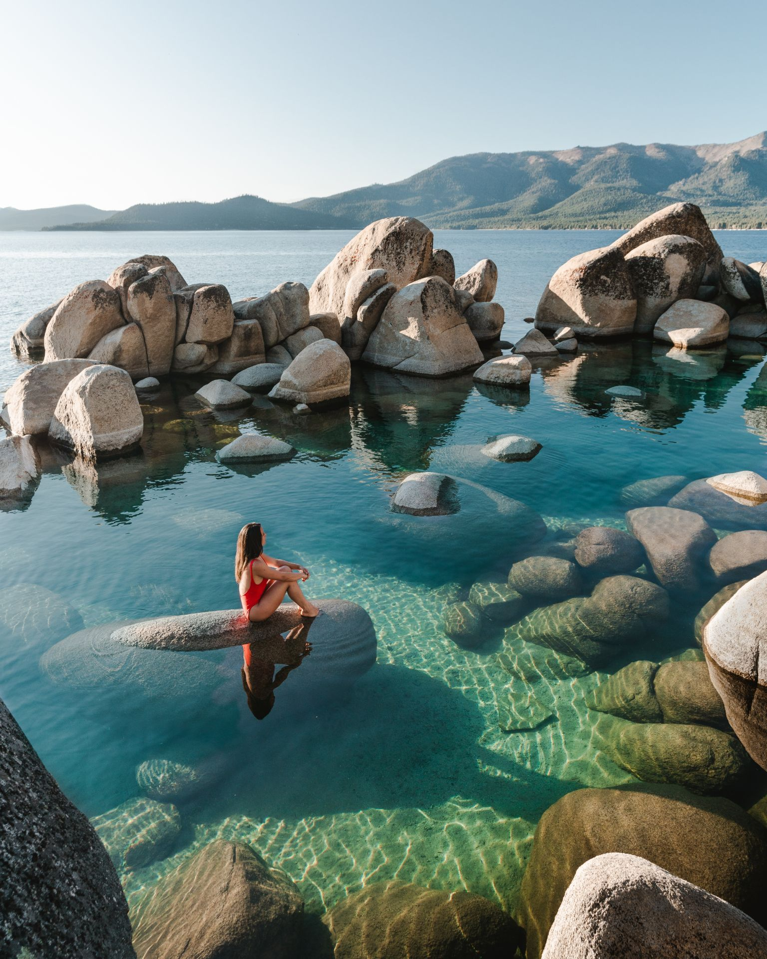 North Lake Tahoe may be the most underrated spot I've ever been to. With crystal clear water, glorious sunny weather and a plethora of activities, it's the perfect paradise! #laketahoe #california #travel