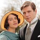 Lady Sybil and Tom Branson in happier days