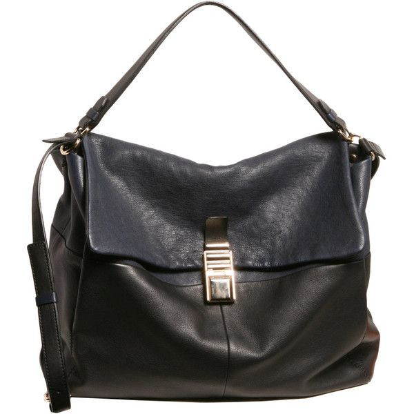 Lanvin 'For Me' Large Two-Tone Bag