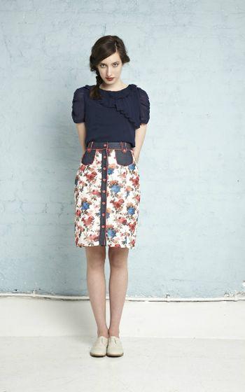 Eucalyptus: Hannah top/Ophelia skirt