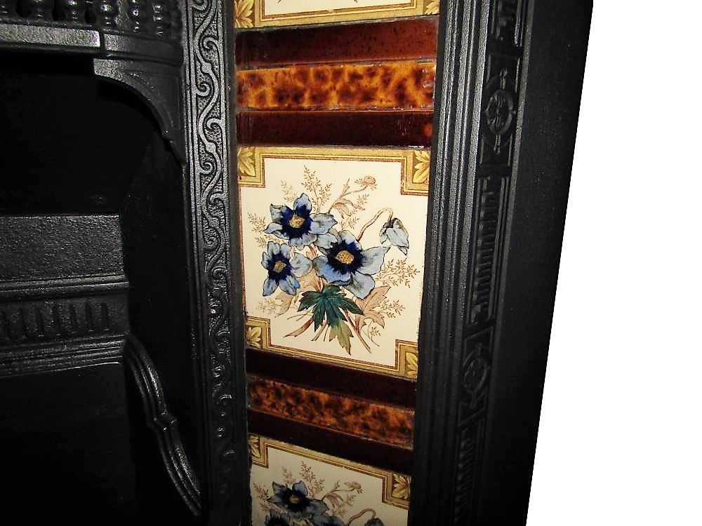 Buy Online Antique Victorian Circa 1895 Fireplace Tile Set Fireplacetiles Antiquetiles Artnouveautiles Victoriantile Fireplace Tile Antiques Antique Tiles