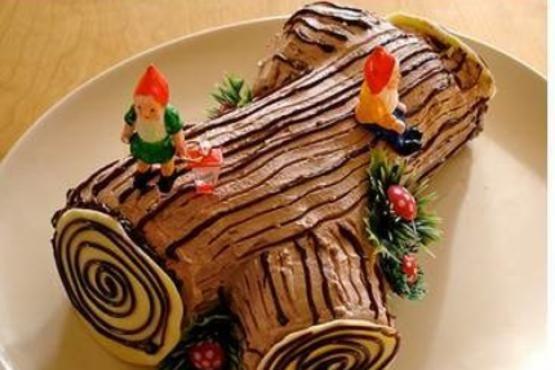 Christmas Log Cake Workshop Cake Decorating Classes In Singapore Yule Log Cake Christmas Food Log Cake