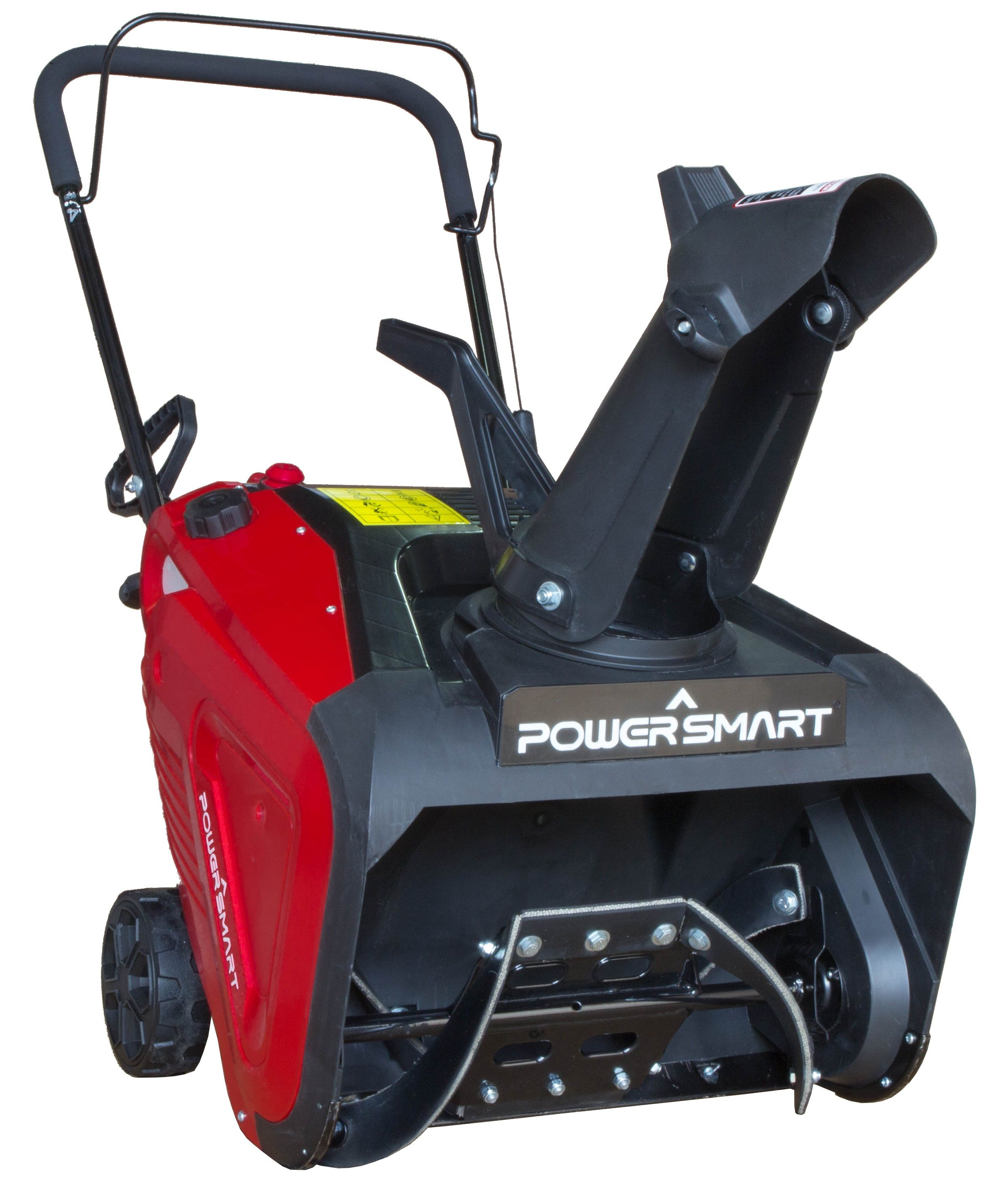 power smart db7005 21 196cc manual start single stage snow blower [ 2376 x 2852 Pixel ]