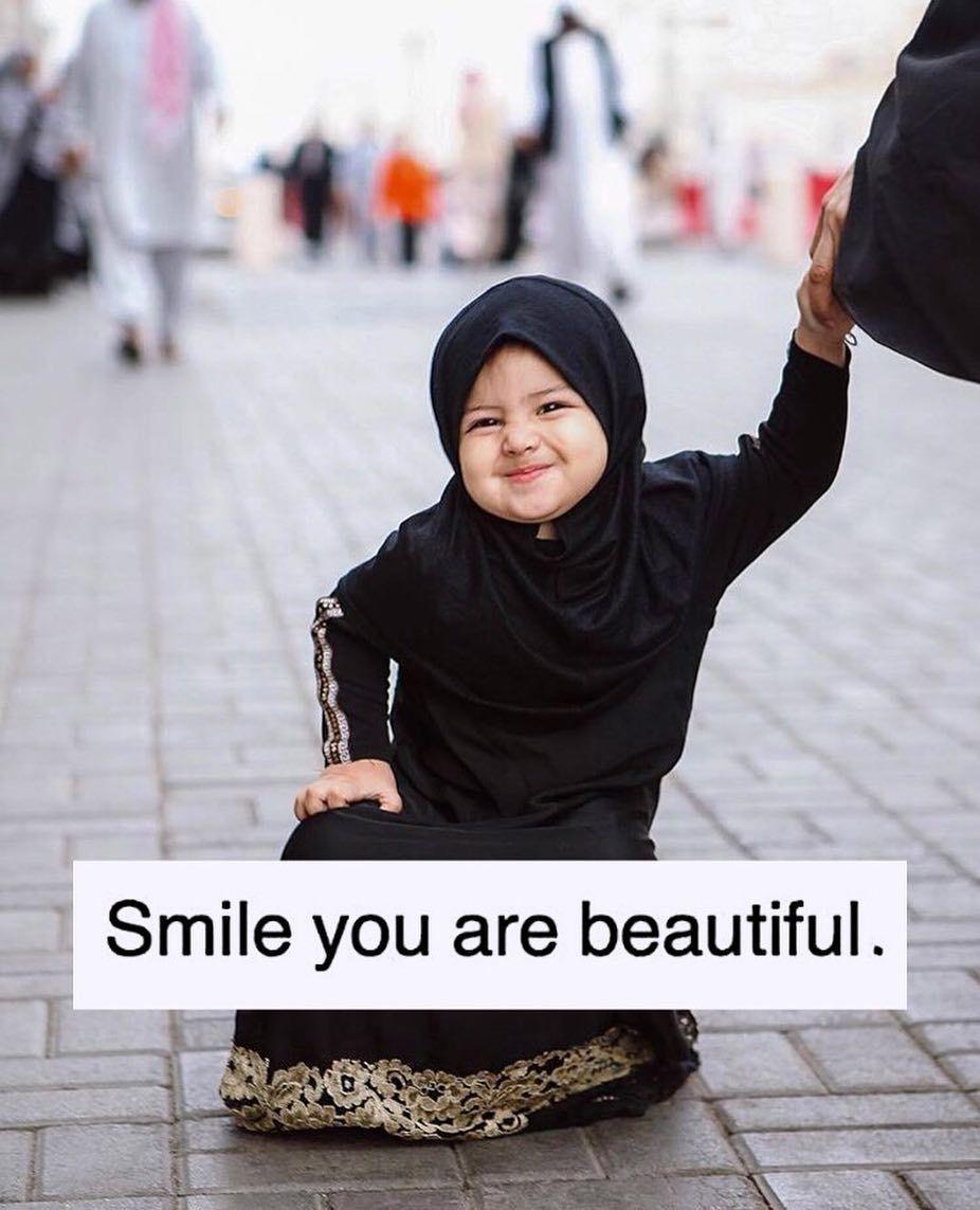 Pin by porcha on happinessmind body spiritpeace ♡ baby hijab muslim girls hijabi girl