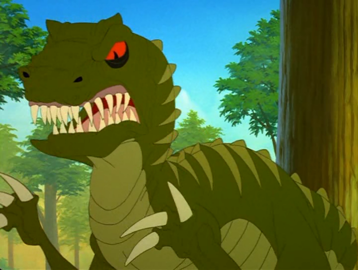 Plated Sharptooth (The Mysterious Island)/Gallery | Land