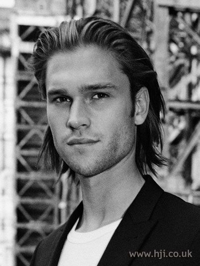 Hairstyles For Men With Long Hair Combed Back Hair Long Hair Styles Men Medium Hair Styles