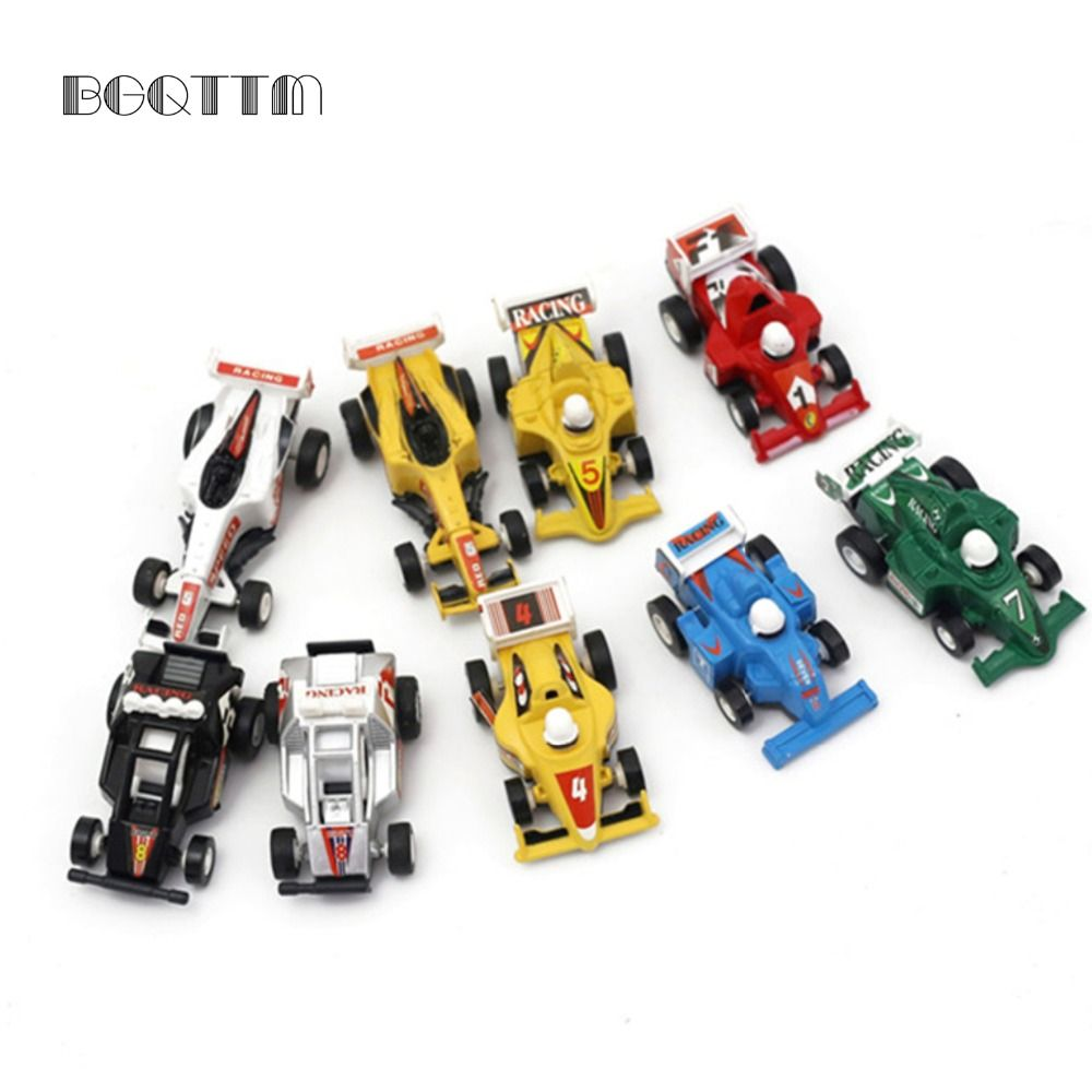 9Pcs Lot High Quality Formula One Racing Car Toy Kid Best Boy Gift For