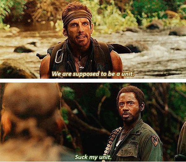What its like working on a group project with someone you