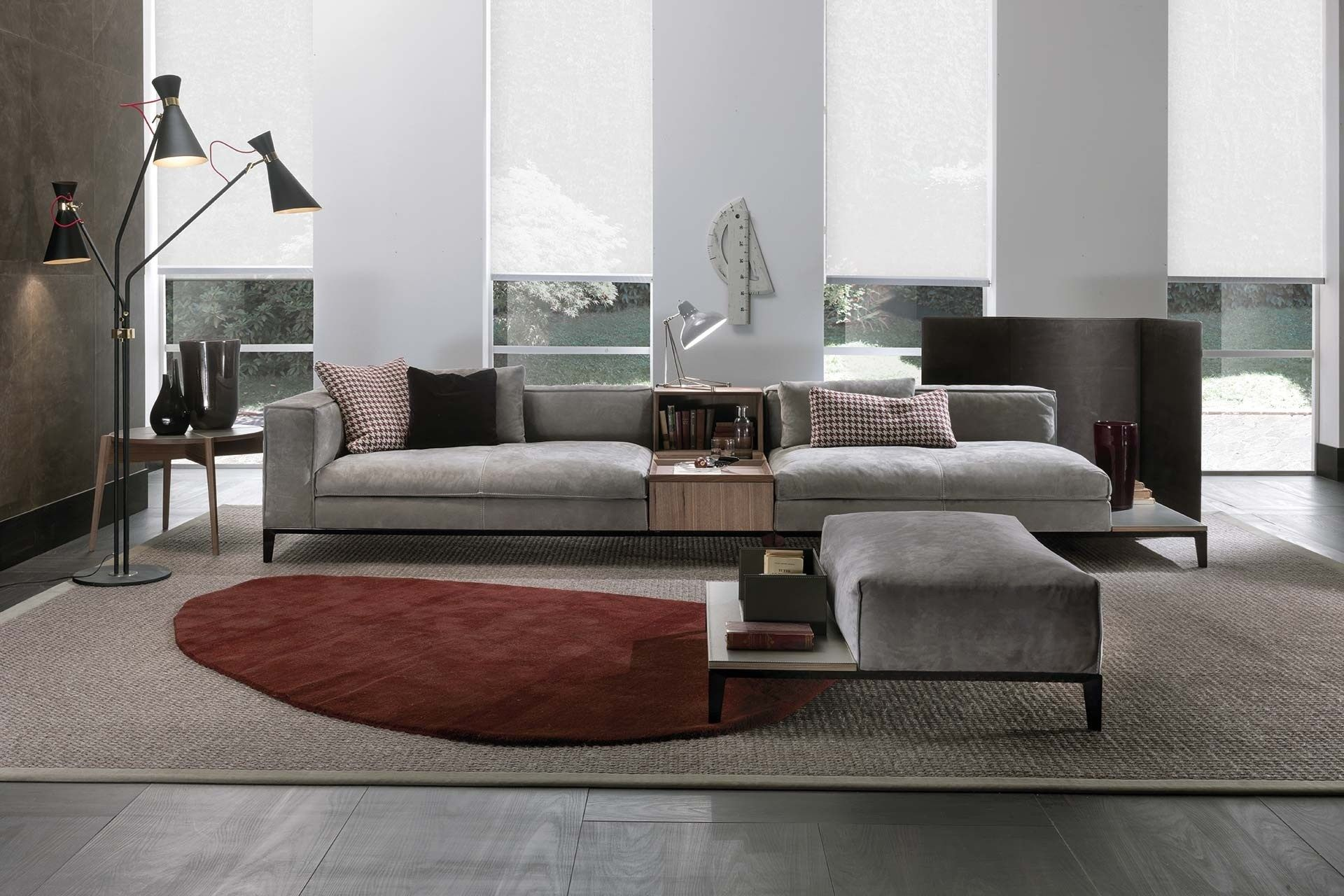 Sectional fabric sofa TAYLOR