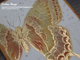 Stampin' on the Prairie: My French Butterfly