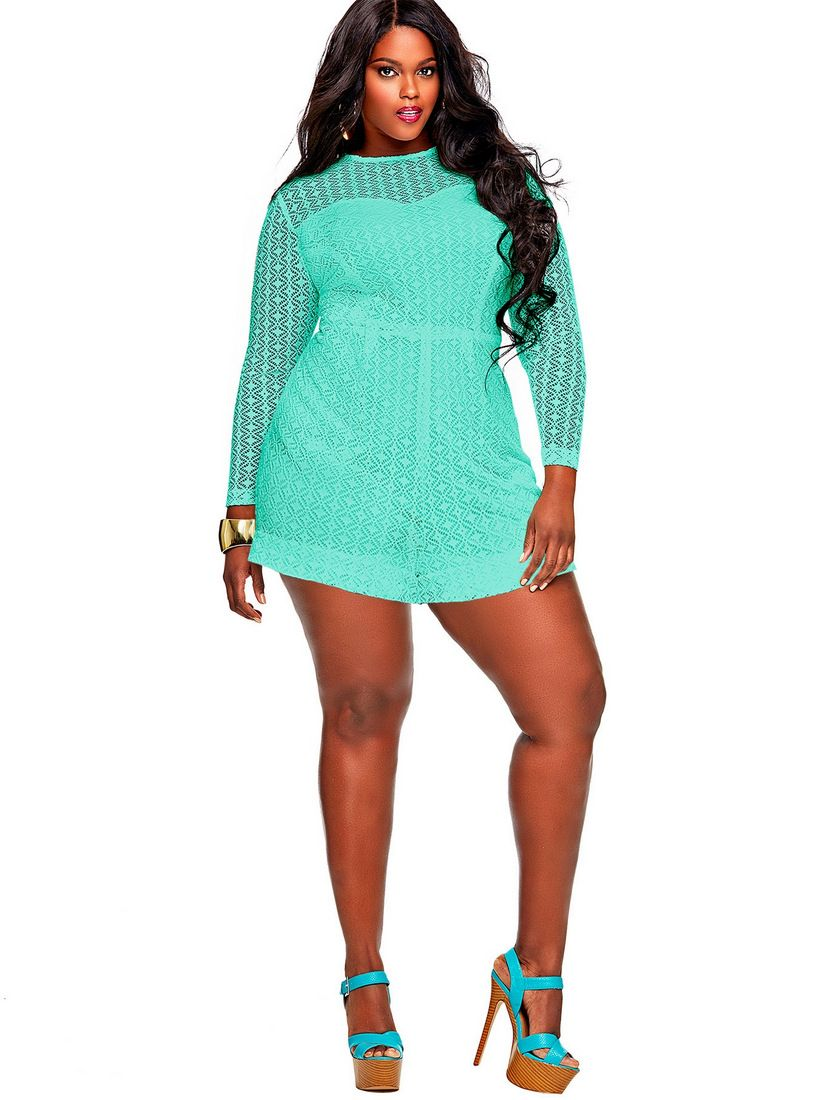 Make a statement in these Monif C Plus Size Rompers | Them, Sexy ...
