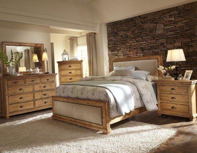 Pine Bedroom Ideas