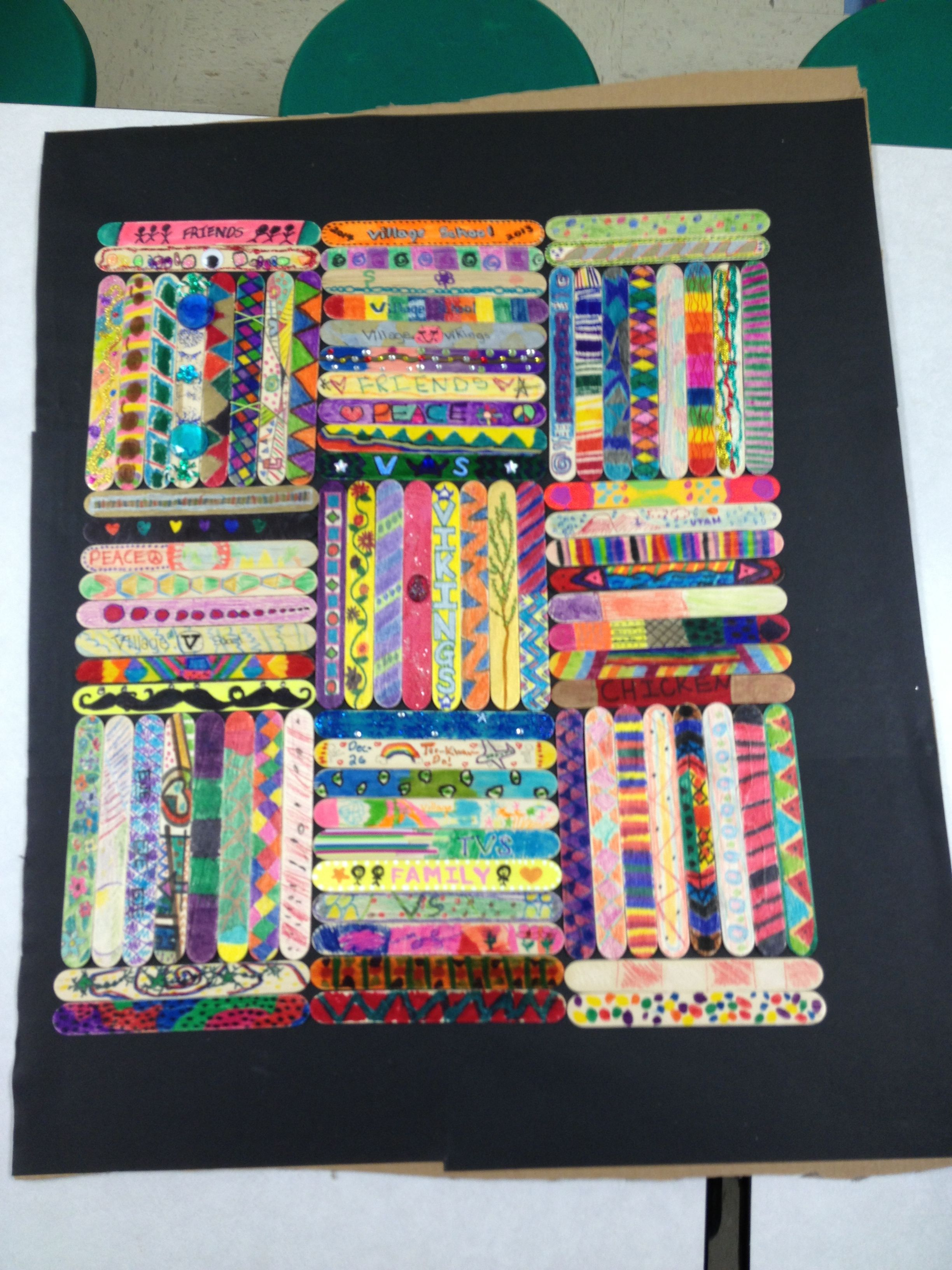 4th Grade Art Project More Fun Than Paper Squares For