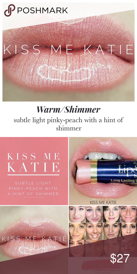 LipSense Lip Color Kiss Me Katie New! NWT Lipsense lip