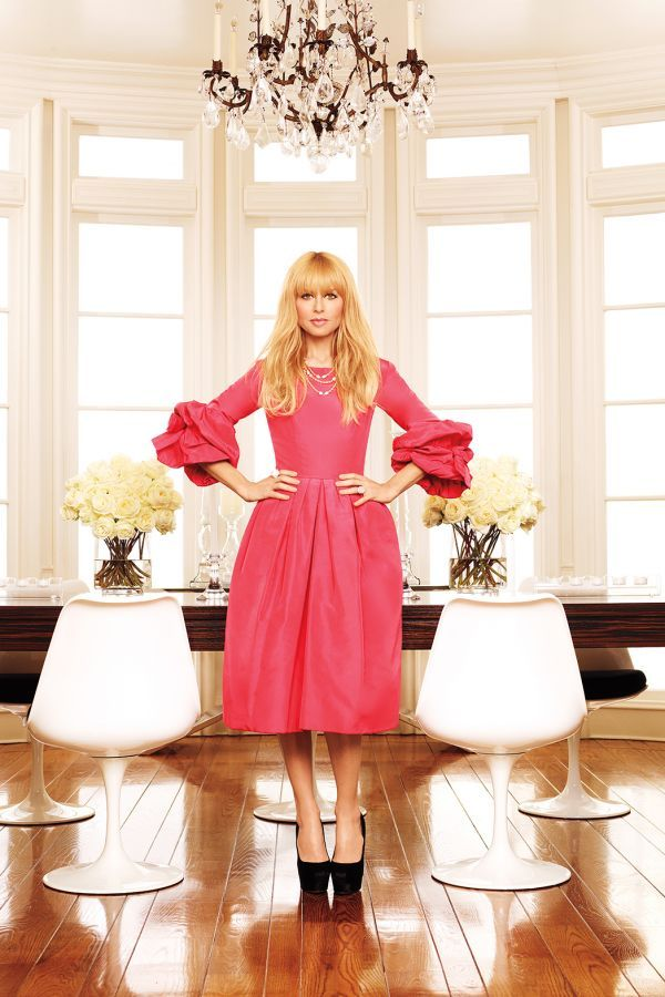 Rachel Zoe Pink Dress Fashion Living In Style Home On The Runway A Infused Interior Design Blog