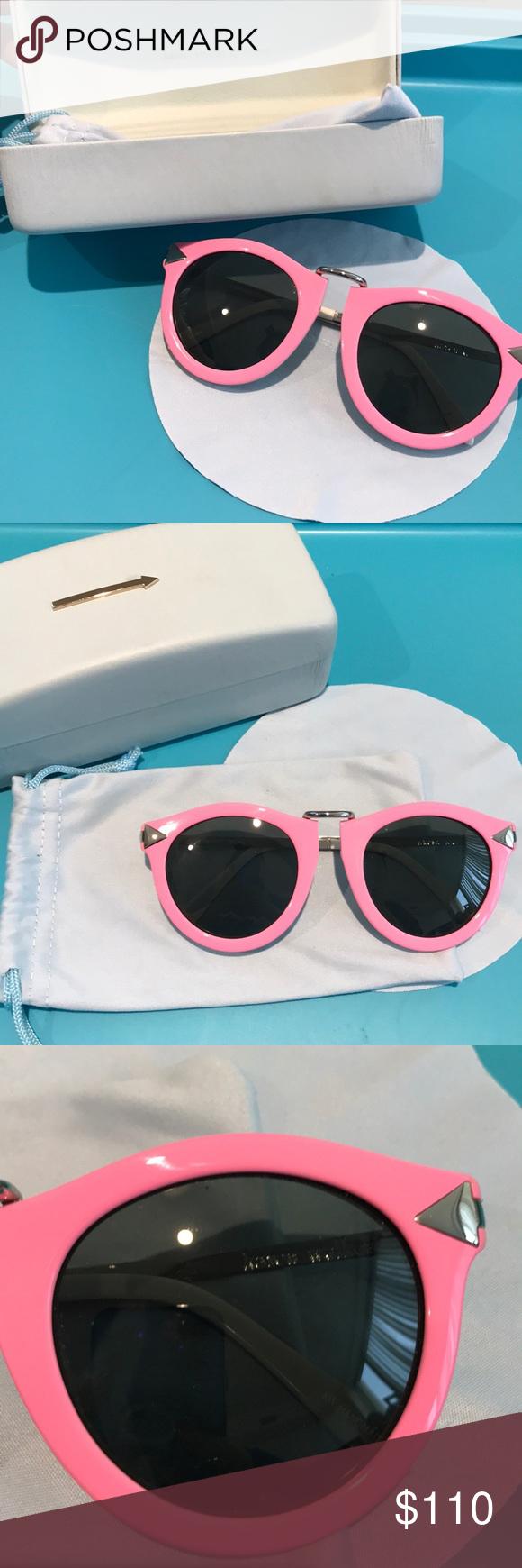 5e215bdbd95 Authentic karen walker sunglasses 🕶 Brand new authentic karen walker  eyewear harvest pink sunglasses 😎 super