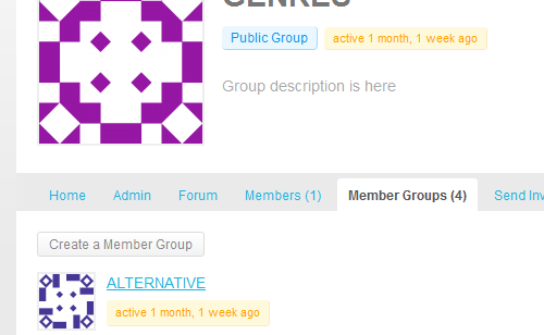 BP Group Hierarchy allows BuddyPress groups to have