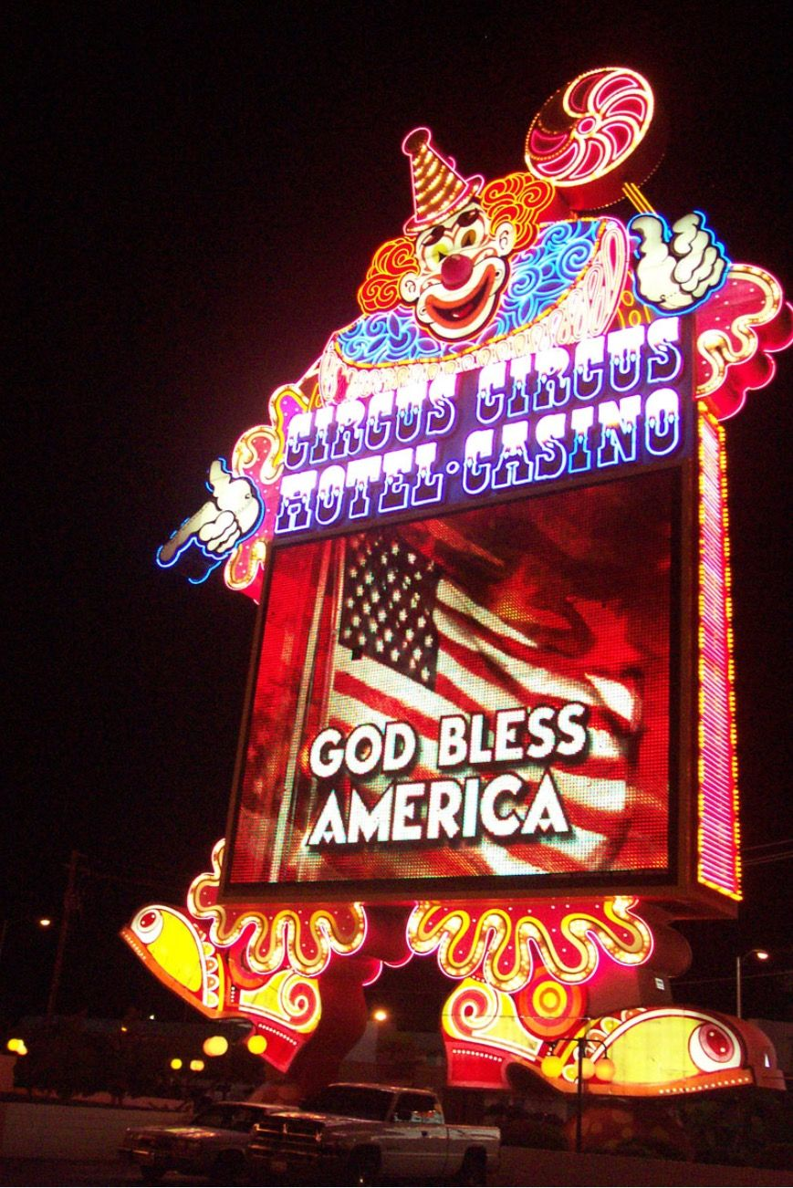 God Bless America. Circus Circus (With images) God bless