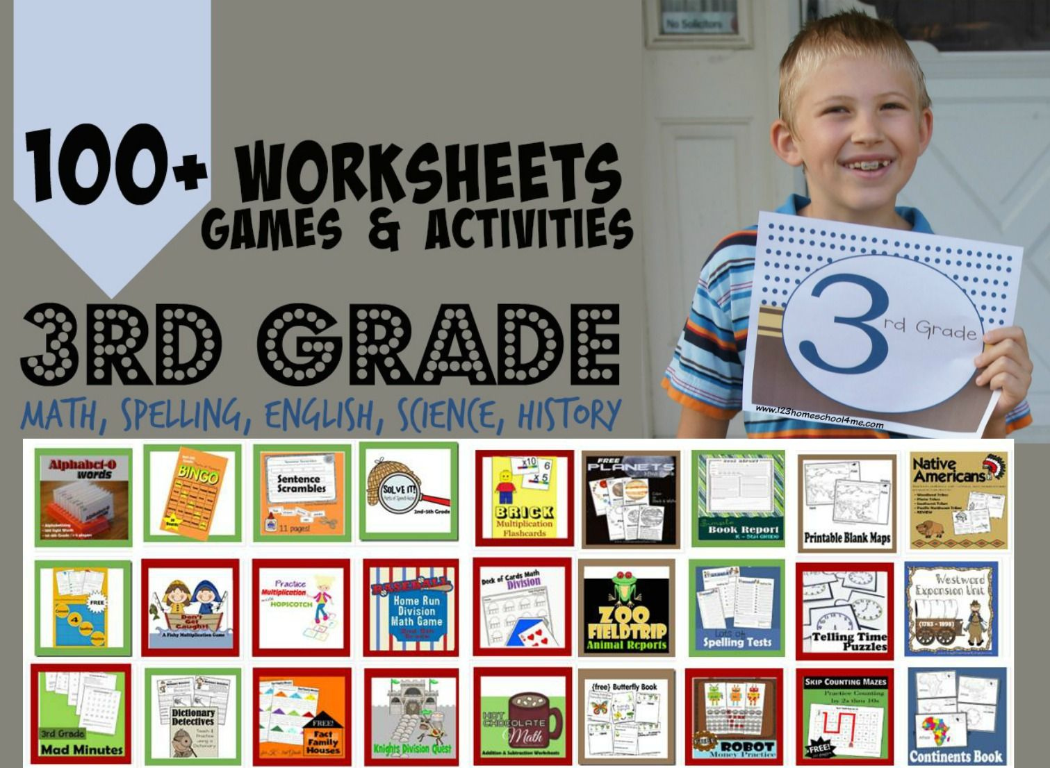 Free 3rd Grade Worksheets With Images