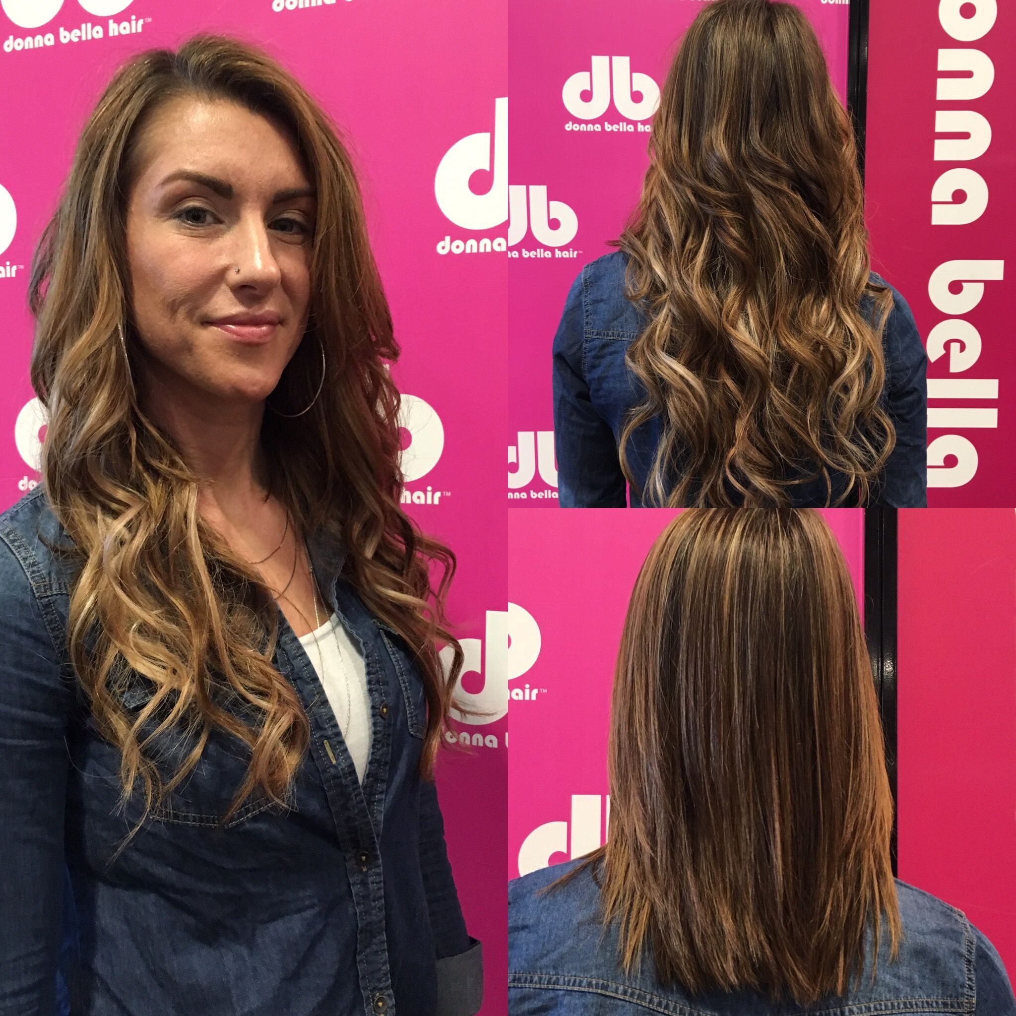 Adding Length Easily With Some Donna Bella Hair Extensions By