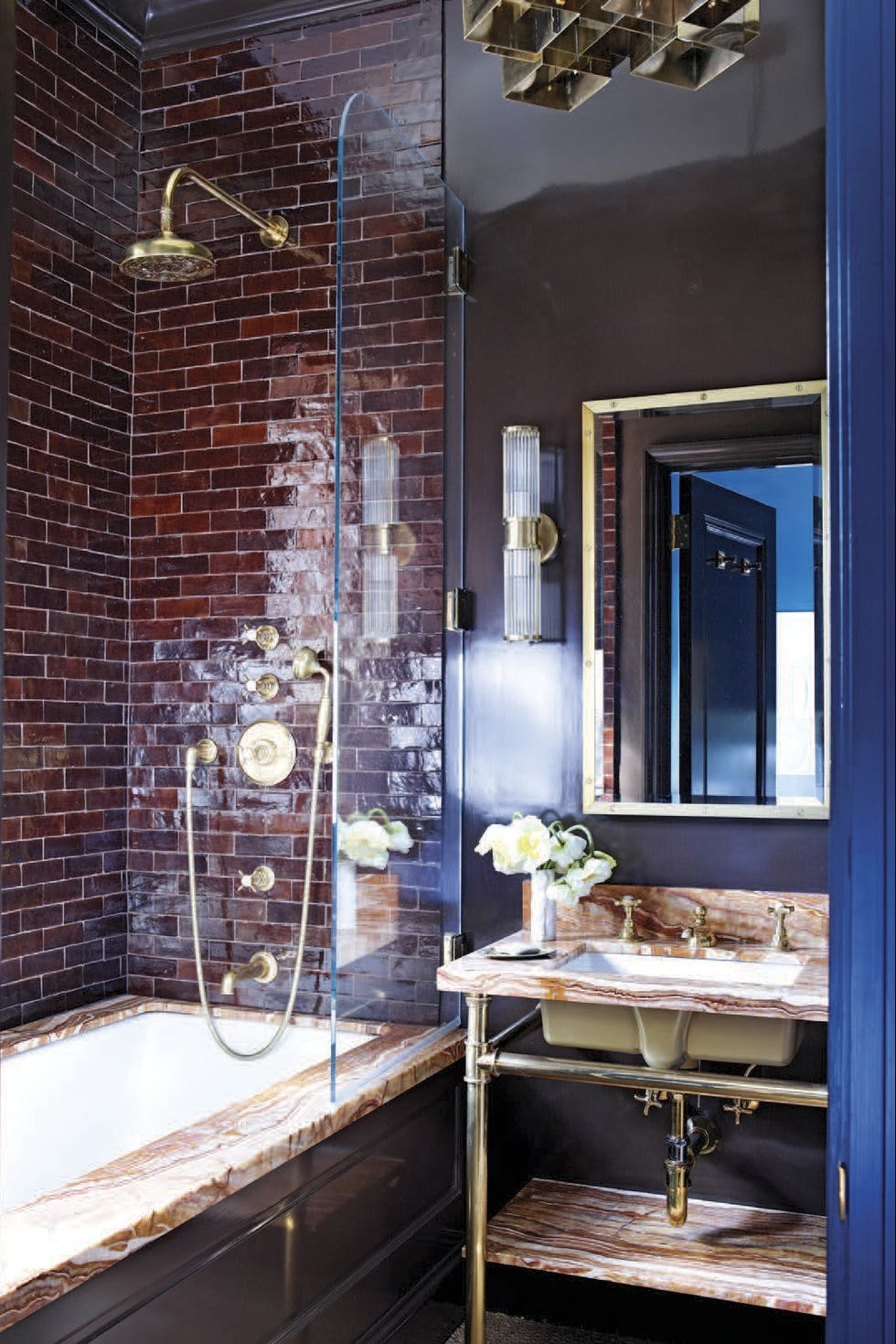 30 creative bathroom tile ideas you'll be tempted to try