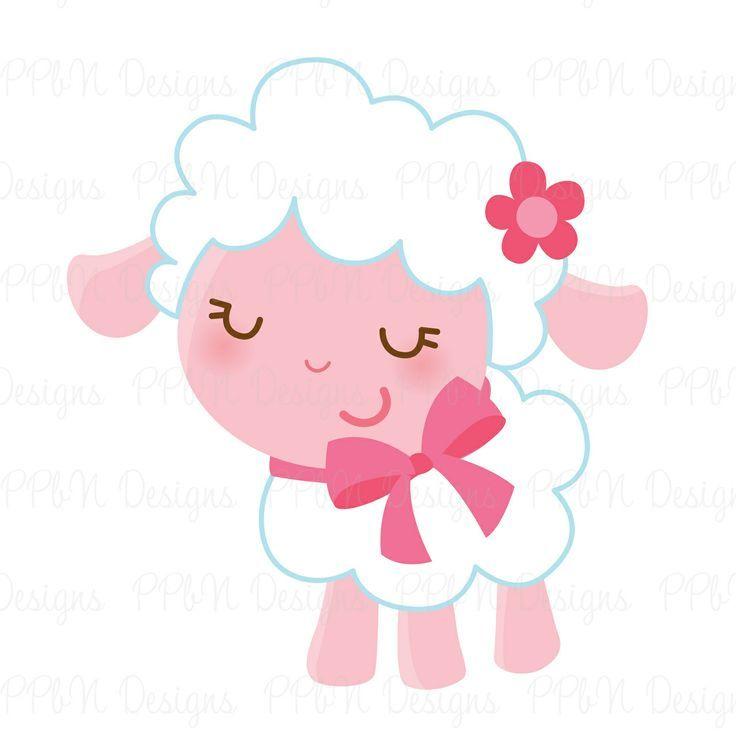 mary had a little lamb vector google search kawaii cuteness rh pinterest ca baby lamb clipart baby girl lamb clipart