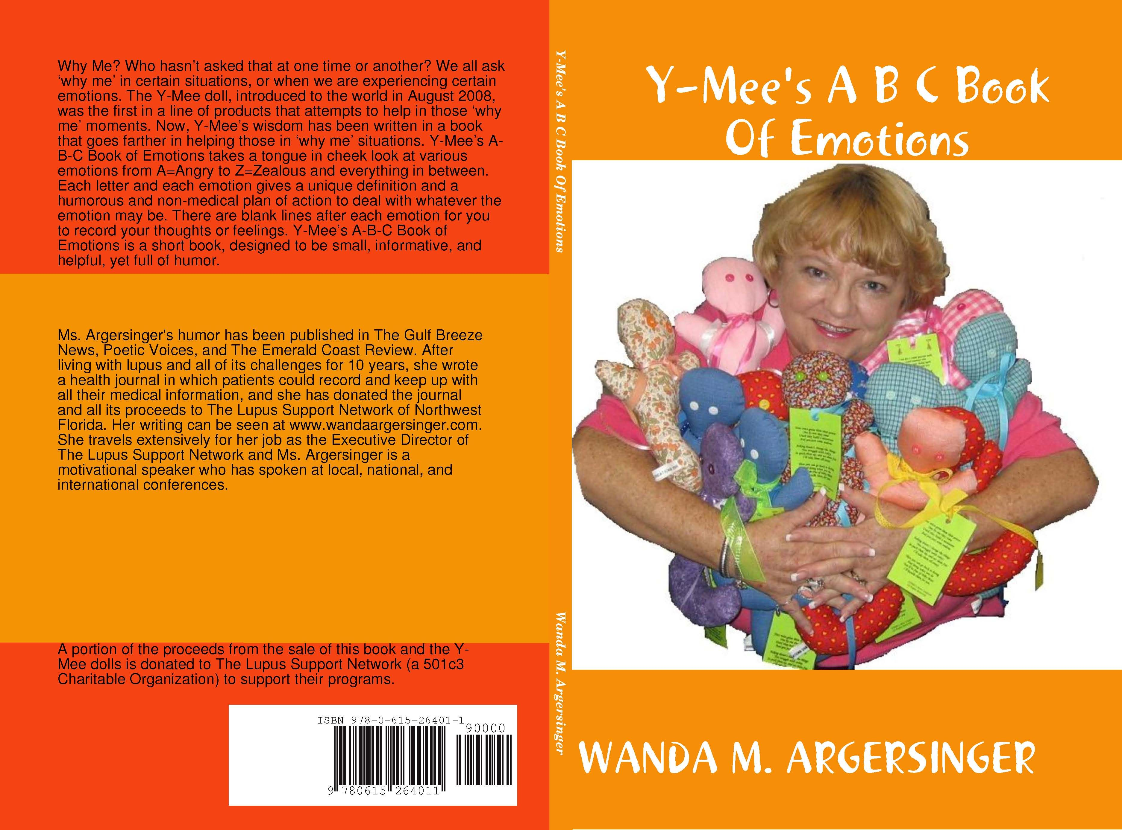 Y-mee is a doll designed to help anyone who finds themself asking the questions Why Me? In this book he tackles emotions by defining them and helping you deal with them with his in your face advice.